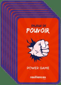 Power Game jeu serious game pouvoir partage