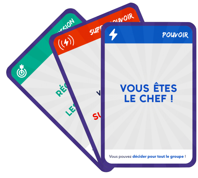 Cartes pouvoir serious game resiliences